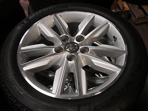 "4 17"" Toyota Camry Avalon 10 Spoke Alloy Wheels Rims with Michelin Tires"