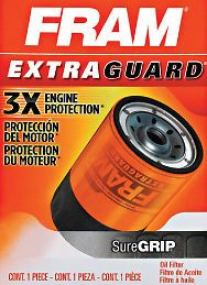 Oil Filter Fram Extra Guard 3X Engine Protection Toyota Tacoma