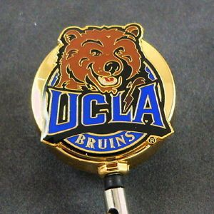 NCAA UCLA Bruins Logo College Sports Retractable Security ID Card Badge Reel