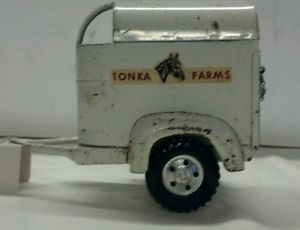 1950's Tonka Farms Horse Trailer
