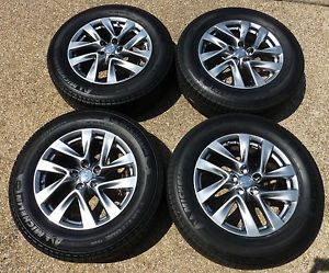Four 2013 JX35 2014 QX60 18 inch Factory Wheels Rims with Michelin Tires