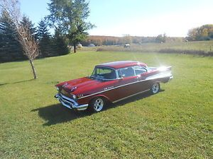 1957 Chevy Bel Air 2dr Hardtop Hot Rod Street Machine Rat Rod