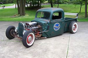 1947 Ford Truck Rat Rod Hot Rod V 8 T 5 5 Speed