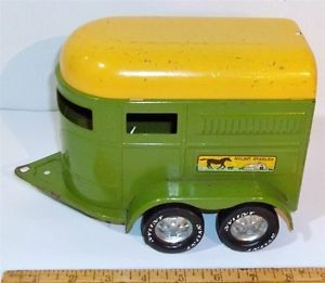 Vintage Original 70's Nylint Stables Chevy Truck and Horse Trailer