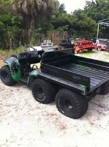 John Deere Diesel Gator 6x2 Utility Vehicle Being Sold for Parts