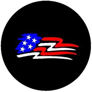 Customgrafixtirecovers™→new Flag Spare Tire Covers for Jeeps or RV'S