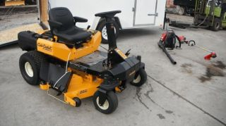 New 54'' Cub Cadet Z Force s 24 HP Kohler Zero Turn Lawn Mower Enclosed Trailer