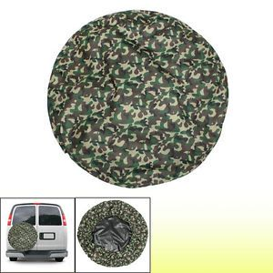 Camouflage 16 inch Nylon Surface Car Automobile Spare Wheel Tire Cover