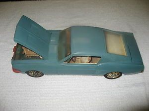 Vintage AMF Wen Mac Ford Mustang GT Fastback Promo Car Battery Operated 1967 USA
