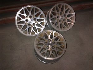 "Jeep Cherokee Grand Cherokee Wheels Rims 15"" 10 Spoke Teardrop Alloy Int 9011"