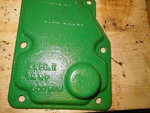 John Deere 1 1 2 HP Hit Miss Engine Side Cover Nice