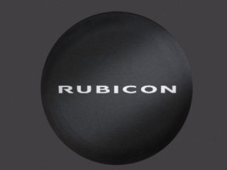 New Jeep Wrangler Rubicon Spare Tire Cover Mopar