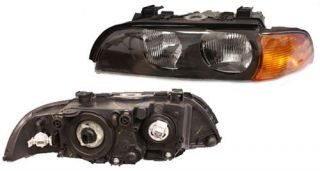 Headlight Assembly Left BMW 528i 540i 97 98 E39