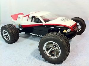 Team Associated RC10 T3 New Wheels Tires Body Stadium Truck Losi RC10 Vintage