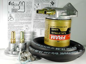 Fram PH8A EAO15 Toyota Ford Import Single Upgrade Remote Engine Oil Filter Kit