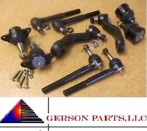 Chevy GMC Suburban K2500 K3500 Suspension Rack Joint Arm Front End Steering Kit