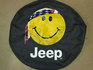 Jeep Spare Tire Cover Mopar P245 75R16 31x10 5 New