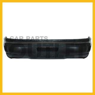 95 01 Chevy Lumina Rear Bumper Plastic Cover Sedan Base LS Raw Mat Black Wo LTZ