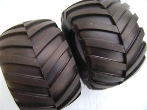 2 2 Chevron Tire Tamiya Blackfoot Losi Traxxas Associated OFNA HPI Monster Truck