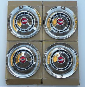 1954 Chevrolet Bel Air Full Disc Wheel Covers Hubcaps Set