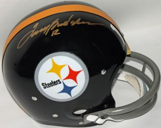 Steelers Terry Bradshaw Authentic Signed Full Size Rep Helmet PSA DNA S80272