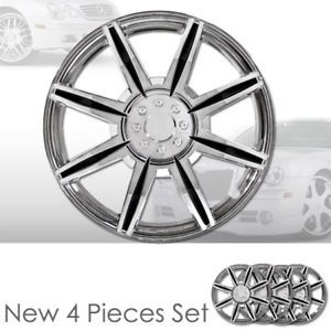 "New 15"" Hubcaps Chrome Rim 15 inch Wheel Covers 541"