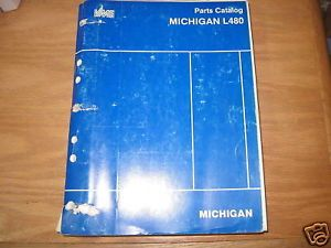 Michigan L480 Wheel Loader Parts Catalog