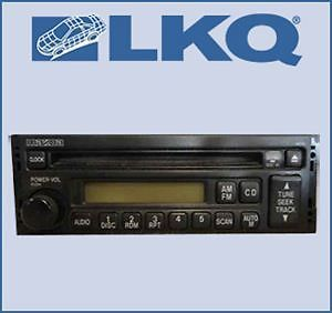 98 1998 99 1999 00 2000 Mazda 626 Single Disc CD Player Radio LKQ