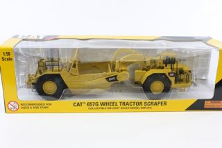 Norscot Cat 657G Wheel Tractor Scraper 55175 Die Cast Metal Scale 1 50