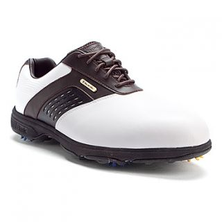 Etonic Dri Tech II Golf  Men's   White/Dk Brown WP Leather
