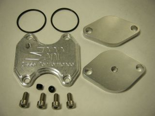 2007 08 EGR Delete Block Off Plate Dodge RAM Cooler Kit EGT Gasket 6 7 Cummins
