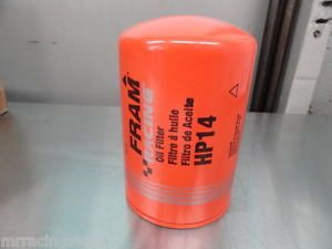 CLOSEOUT Sale 1 New Fram Racing Spin on Oil Filter HP14
