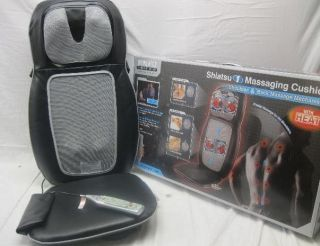 Homedics SBM 500H Therapist Select Shiatsu One Massaging Cushion with Heat