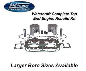 Sea Doo 650 1994 WSM Complete Top End Engine Rebuild Kit Platinum 010 816 10P