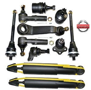 1999 Dodge Dakota Suspension Ball Joint Pitman Arm Tie Rod End Shock Absorber