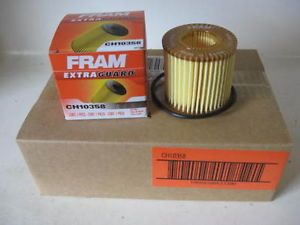 Vibe XD Corolla Matrix Prius Fram CH10358 Oil Filter Case 6 Six