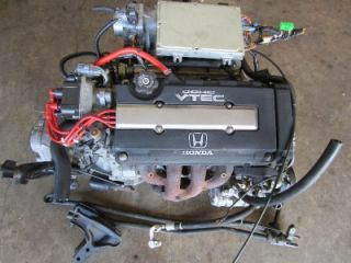 96 00 Honda Integra Civic B16A DOHC vtec Engine LSD Transmission OBD2 B16 B18C