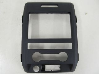Ford F150 Truck F Series Radio Bezel Dash Bezel Surround Trim Black