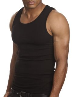 Top Quality 100 Premium Cotton Mens A Shirt Wife Beater Ribbed Tank Top Muscle