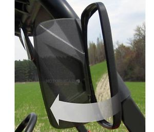 "Seizmik 18041 Side Mirror UTV Polaris Yamaha Rhino Kawasaki Mule All 1 75"" Bar"