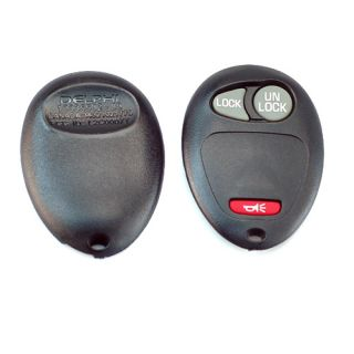2pcs Lot 2 Keyless Remote Key Case Fit for Chevrolet GMC Hummer H3 2004 2012