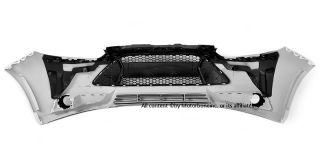 12 14 Ford Focus ST Style Front Bumper Cover Conversion Mesh Grille Fog Cover