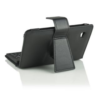 Bluetooth Keyboard Leather Case for Samsung Galaxy Tab 7 inch Tablet P1000 P1010