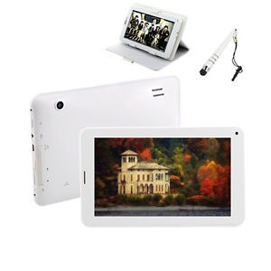 "7"" Android 4 2 Dual Core 4GB Bluetooth GPS Phablet Tablet PC Wi Fi Camera Bundle"