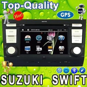 Suzuki Swift Car DVD GPS Navi Autoradio Headunit USB iPod Navinio Bluetooth
