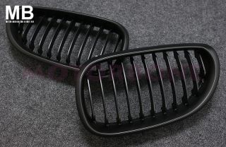 BMW E60 Front Center Grille 04 07 Kidney Style Black