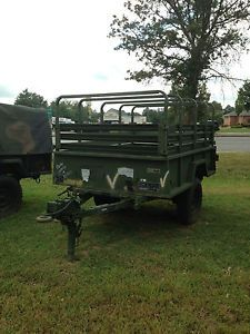 5 Heavy Duty 3 4 Ton Army Military Cargo Hauling Trailers