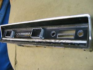 67 1967 Ford Fairlane Instrument Cluster Super Nice Original Nice Lens Gauges