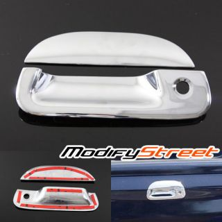 Ford F150 F250 F350 Explorer Sport Trac Tail Gate Trunk Door Handle Cover Chrome