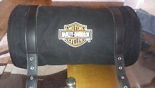 Harley Davidson Motorcycle Travel Pack Bag with Accessories Plus Tools